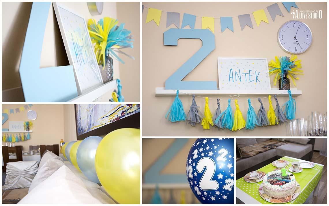 dekoracje urodzinowe na drugie urodziny dziecka
