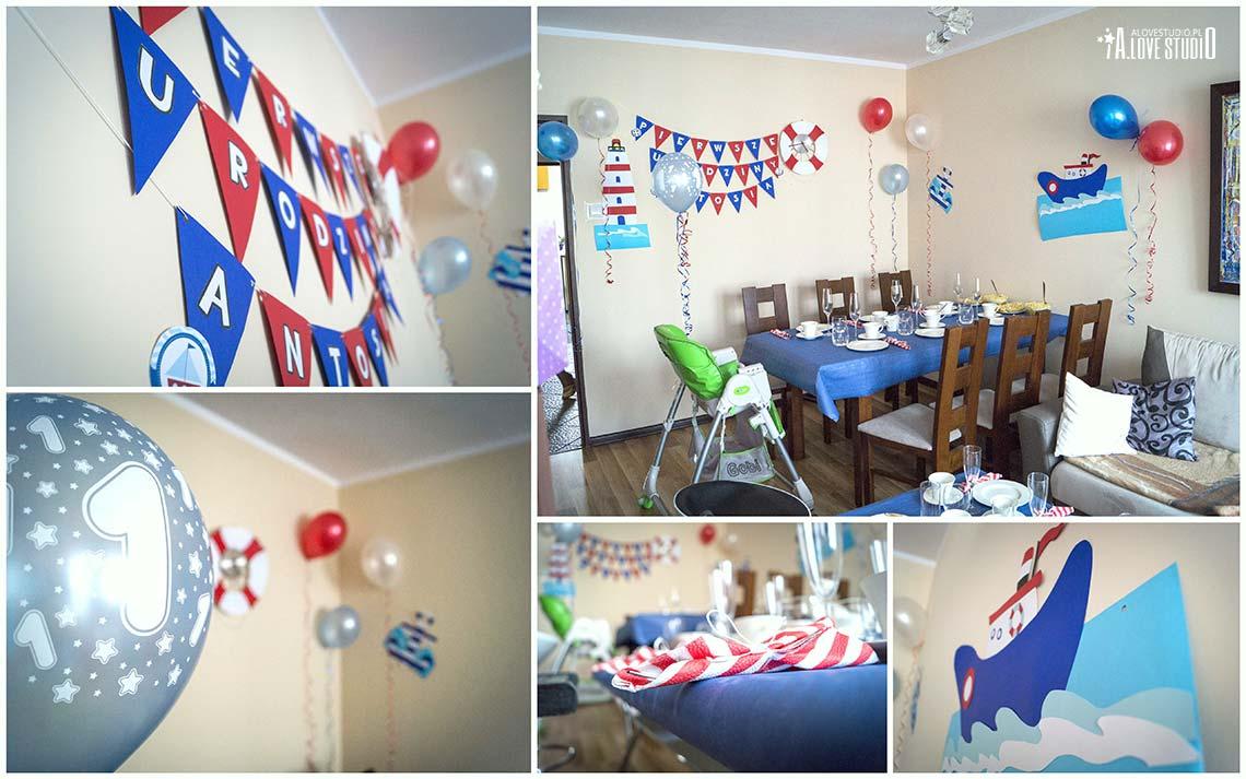 dekoracje urodzinowe na roczek dziecka