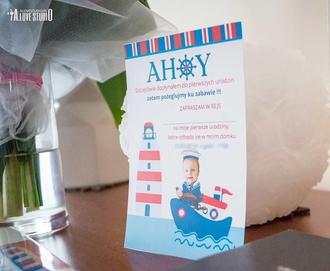 zaproszenie urodzinowe na jeden roczek dla dziecka