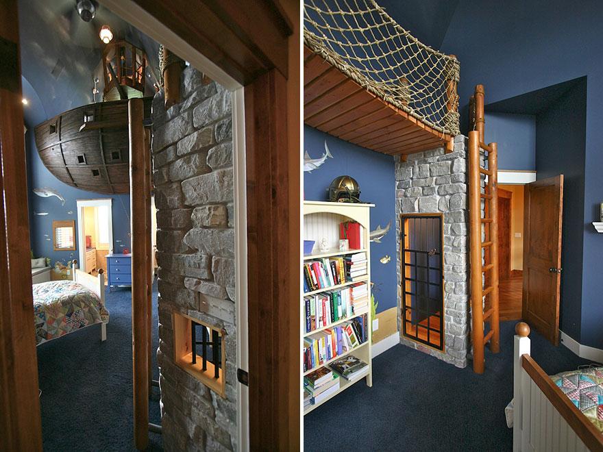 kreatywny pokój dziecięcy pomysł 2