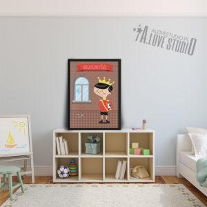 plakaty dla dzieci do pokoju chłopca niegrzeczny książę - 2