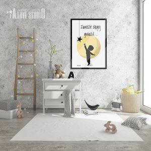 plakaty-dla-dzieci-do-pokoju-chlopca-siegaj-gwiazd-alovestido-2