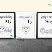 plakaty-dla-dzieci-do-pokoju-chlopca-sowia-rodzina-2plus1-d