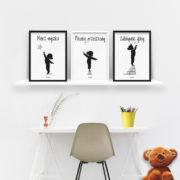 plakaty-dla-dzieci-do-pokoju-dziewczynki-mierz-wysoko-b
