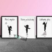 plakaty-dla-dzieci-do-pokoju-dziewczynki-mierz-wysoko-d