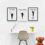plakaty-do-pokoju-dzieciecego-dziewczynki-mierz-wysoko-c