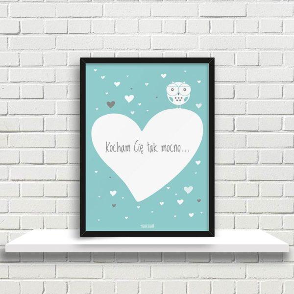 plakaty-dekoracje-do-pokoju-dzieciecego-dziewczynki-kochm-Cie-mocno-min-1