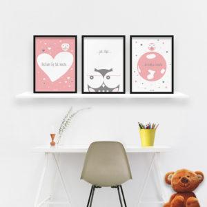 plakaty-dekoracje-do-pokoju-dzieciecego-dziewczynki-kochm-Cie-mocno-c