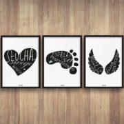 plakaty-dekoracje-do-pokoju-dzieciecego-chlopca-sluchaj-swego-serca-b