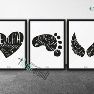plakaty-dla-dzieci-do-pokoju-chlopca-sluchaj-swego-serca-a