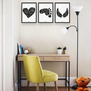 plakaty-dla-dzieci-do-pokoju-chlopca-sluchaj-swego-serca-b