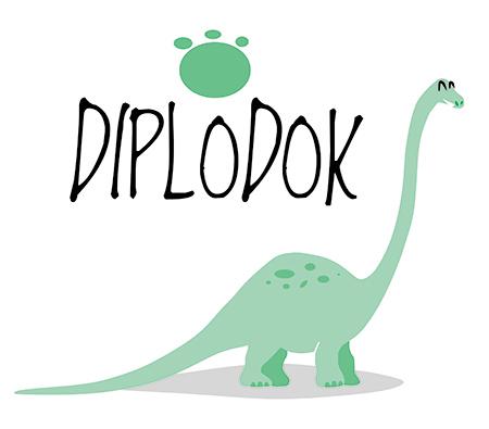 diplodok plakaty do pokoju chłopca dinozaury