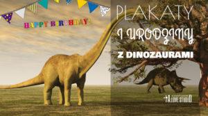 nowe plakaty z dinozaurami pójkoj dziecka alovestudio