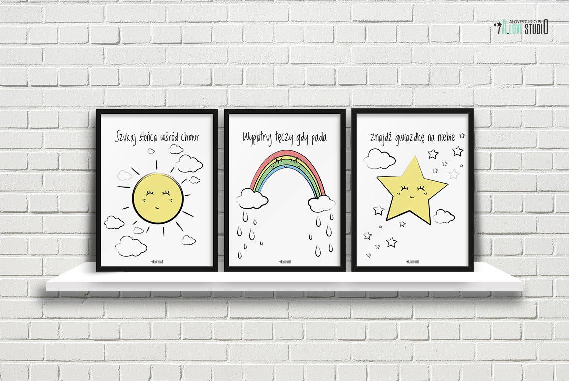 Plakaty Dla Dzieci Dekoracje Pokoj Chlopca Dziewczynki