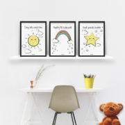 plakaty-dla-dzieci-dekoracje-pokoj-chlopca-dziewczynki-szukaj-slonca-b