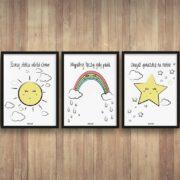 plakaty-dla-dzieci-dekoracje-pokoj-chlopca-dziewczynki-szukaj-slonca-c