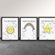plakaty-dla-dzieci-dekoracje-pokoj-chlopca-dziewczynki-szukaj-slonca-d