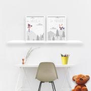 plakaty-dla-dzieci-swiety-mikolaj-alovestudio-b