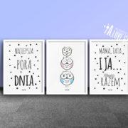 plakaty-dla-dzieci-dekoracje-pokoj-chlopca-dziewczynki-najlepsza-pora-dnia-d