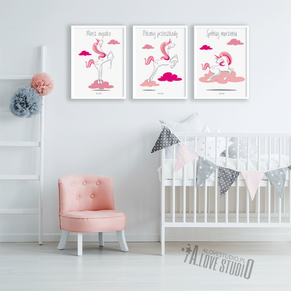 Plakaty obrazki dla dzieci spełniaj marzenia alovestudio pl 2