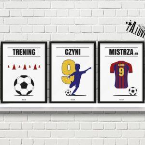 Plakaty piłkarskie do pokoju chłopca, plakaty piłkarz a