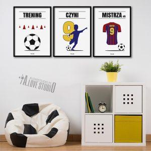 plakaty-pilkarz-b-dla-dzieci-pilkarskie-pokoj-chlopca-trening-czyni-mistrza-alovestudio-3