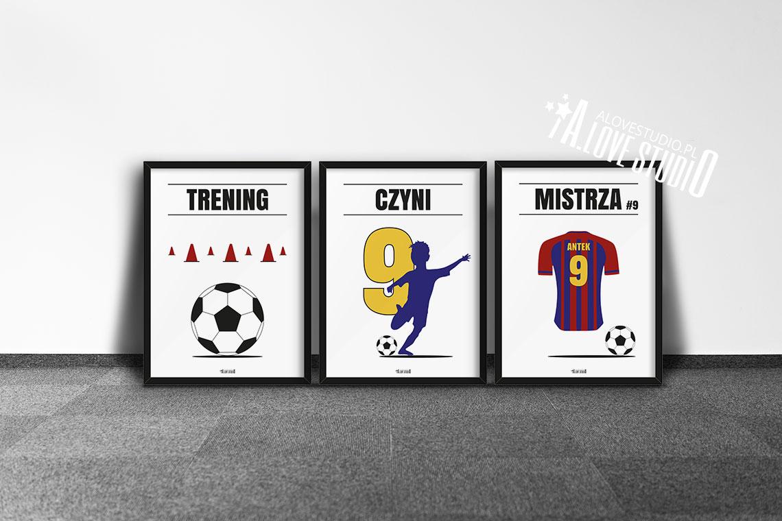 Plakaty piłkarskie do pokoju chłopca, plakaty piłkarz e