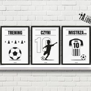 Plakaty piłkarskie do pokoju chłopca, plakaty piłkarz vc a