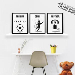 Plakaty piłkarskie do pokoju chłopca, plakaty piłkarz vc b