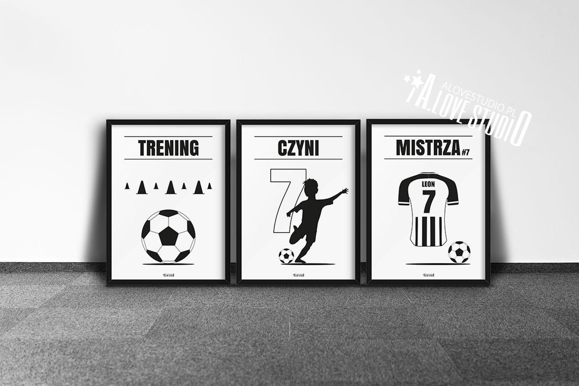Plakaty piłkarskie do pokoju chłopca, plakaty piłkarz vc d