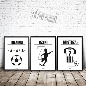 plakaty piłkarz dla dzieci piłkarskie pokój chłopca 1