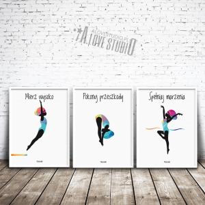 Plakaty dla dzieci pływackie basen mała pływaczka alovestudio pl 1