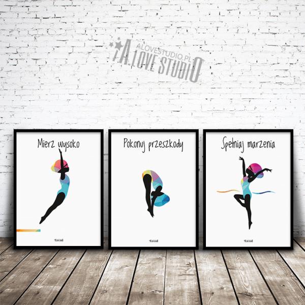 Plakaty dla dzieci pływackie basen mała pływaczka alovestudio pl 2