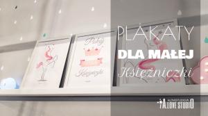 Plakaty z jednorożcem dla małej ksieżniczki alovestudio pl