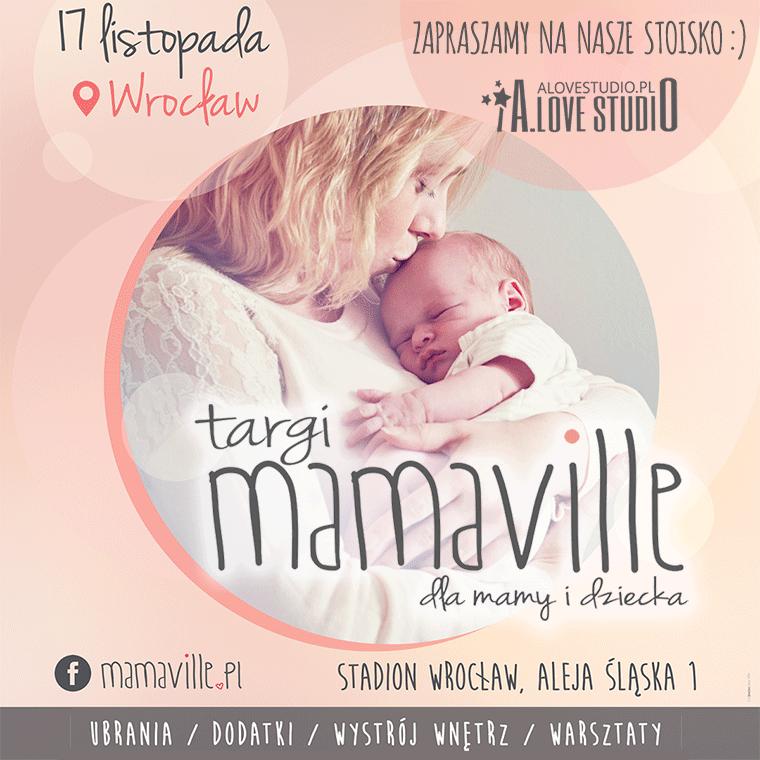 Baner Targi Mamaville Plakaty dla dzieci Alovestudio-pl