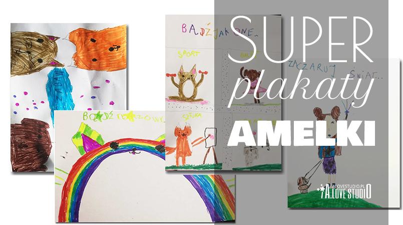 plakaty Amelki inspiracja z alovestudio pl