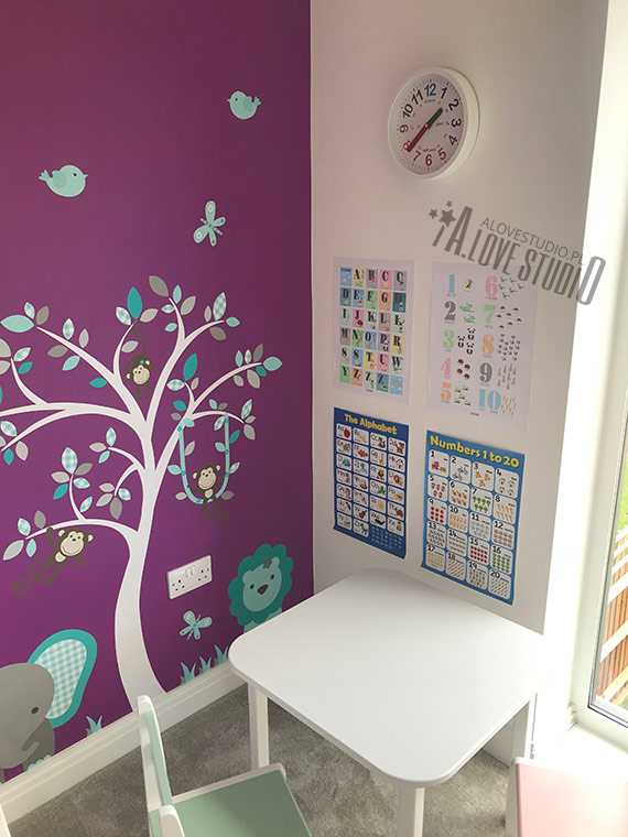 plakaty alfabet literki pokój dziecka alovestudio ploj