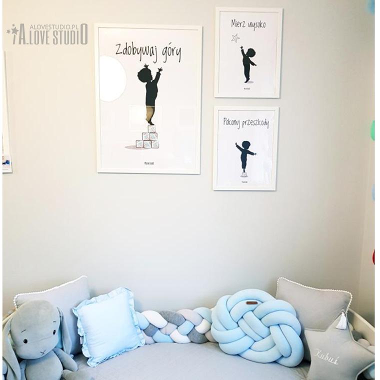 www.alovestudio.pl plakaty motywacyjne dla dzieci pokój chłopca 2